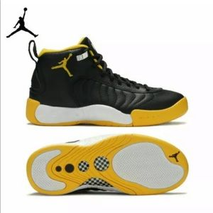 """Air Jordan Jumpman Pro """"University Gold""""."""